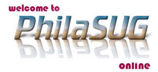 Welcome to PhilaSUG on-line [33.7 kBytes]