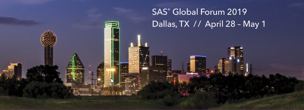 SAS Global Forum 2019